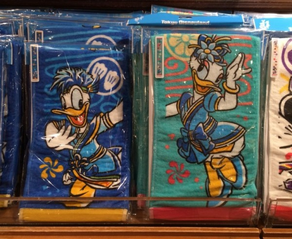 Donald & Daisy Nastsu Matsuri Long Towels
