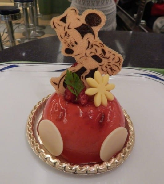 Minnie Mouse Mousse Cake