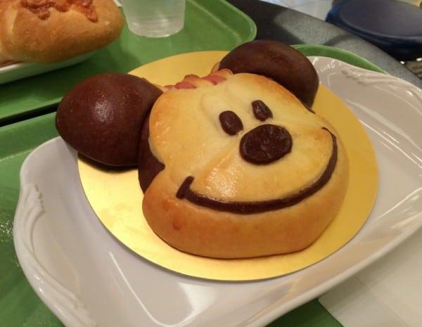 Natsu Matsuri Coconut Cream Filled Mickey Bread at Tick Tock Diner